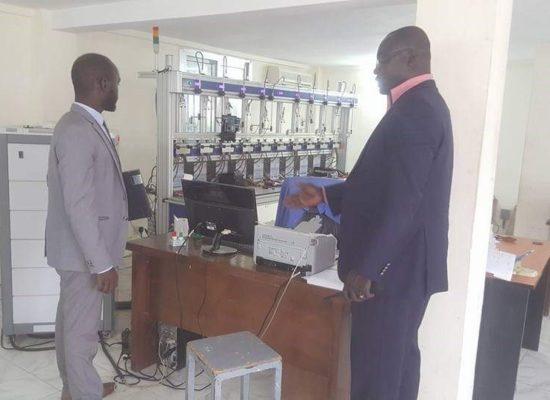 Audit du centre d'investigation et de contrôle des compteurs mécaniques chez notre client (secteur de l'énergie)