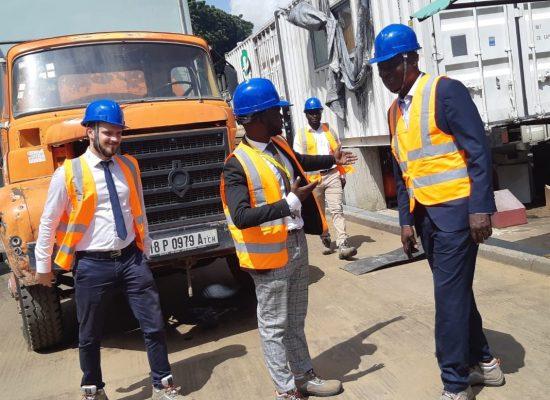 Visite de la Centrale Electrique gérée par VIP POWER dans le cadre d'un audit organisationnel